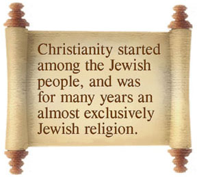 Christianity started among the Jewish people